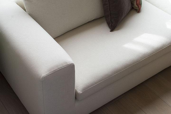 LIMA(リマ)綿麻のソファ・生成りの白