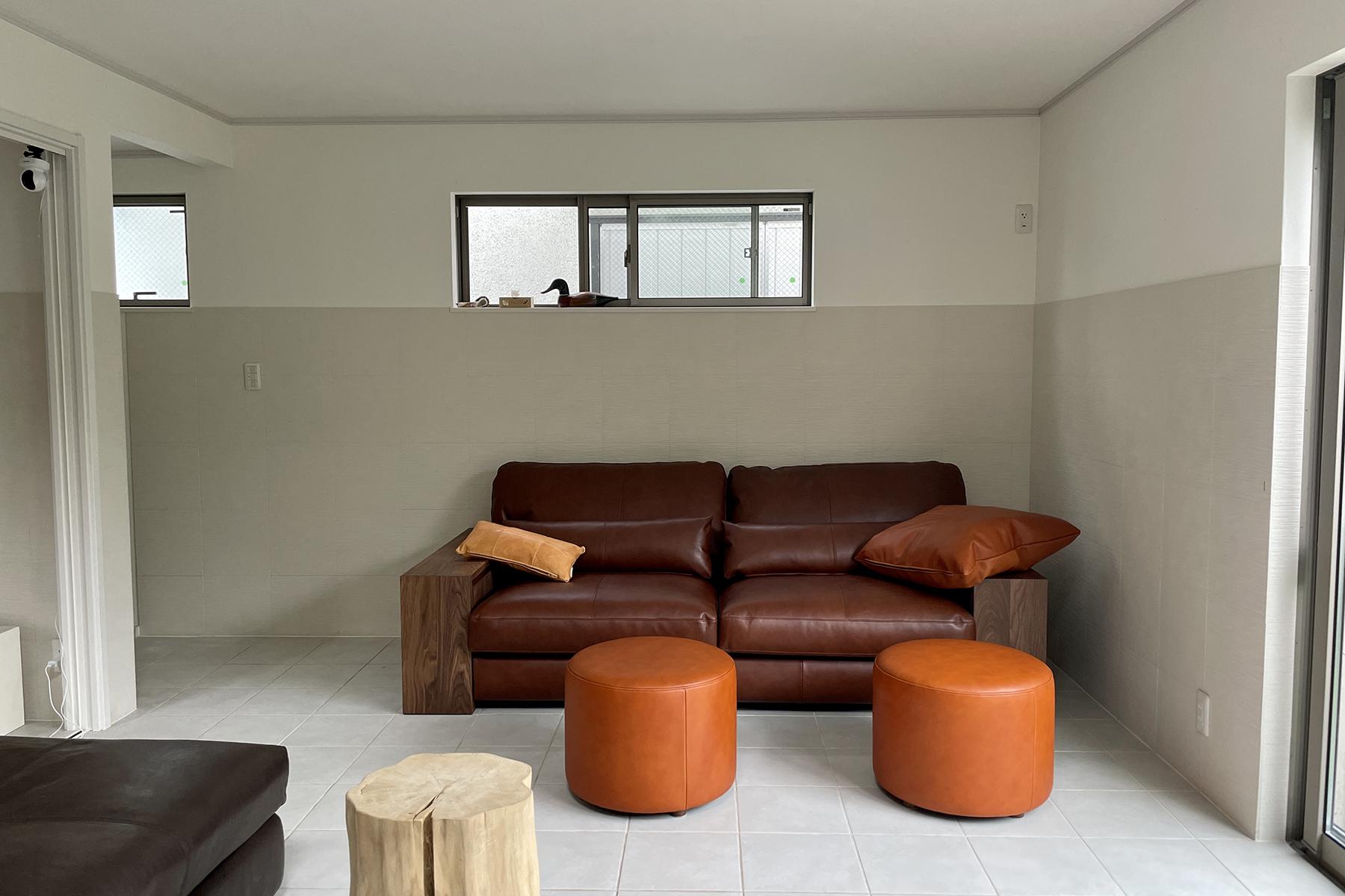 この部屋でゆったりと過ごしたい/KOKOROISHIソファのお客様の声