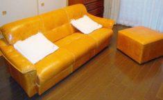 亡くなった父の思い出のソファの張替え、心地よい座り心地/KOKOROISHIソファのお客様の声