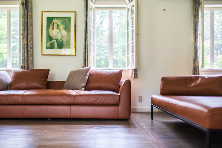 このソファで読書してる時が幸せ/KOKOROISHIソファのお客様の声