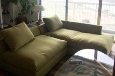 このソファの奥行き、最高!