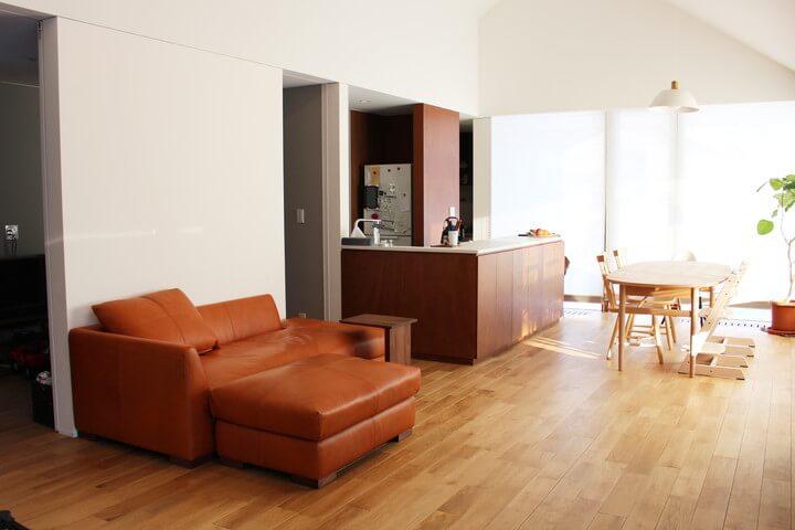 ソファで過ごす時間は至福の時/KOKOROISHIソファのお客様の声