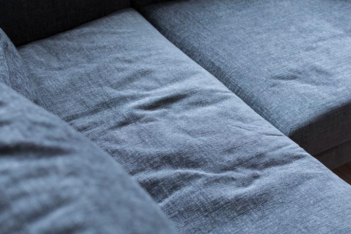 NATURE(ナチュレ)のカウチソファのグレー色