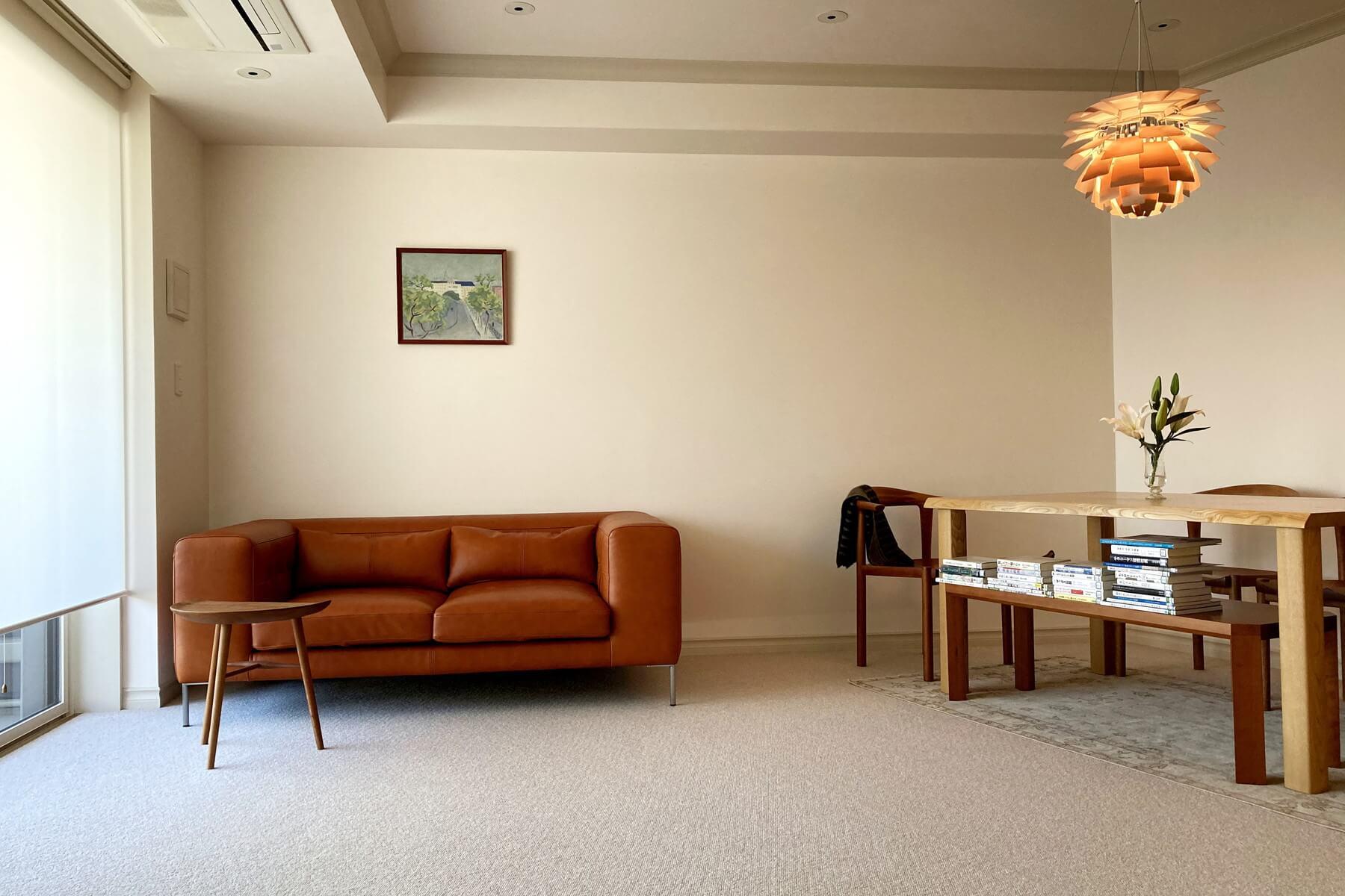 好きな家具に囲まれる。/KOKOROISHIソファのお客様の声